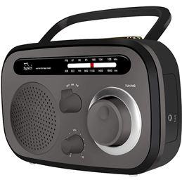 Sytech SY-1657 Radio portatil AM/FM negro - sytech_sy1657-negro