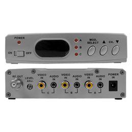 Illusion MOD-ILL3VD Modulador A/V 3 entradas (VHF) - MOD-ILL3VD