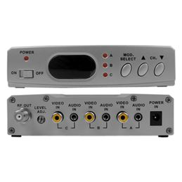Illusion MOD-ILL3VD Modulador VHF A-V 3 entradas - MOD-ILL3VD