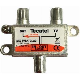 Tecatel MIX-TVSATCLA2 Mezclador TV/SAT - TECATEL MIX-TVSAT2 CLASE A