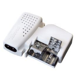 Televés 560601 Ampli. interior 2S. 23dB TV/SAT - 560601-amplificador-de-vivienda-uhf-con-2-salidas-blanco