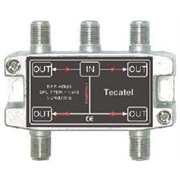 Tecatel REP-HG4S Repartidor 4 salidas 5-2400MHz - rep-hg4s