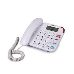 Kooltech TE638 Teléfono sobremesa números grandes - telefono-fijo-kooltech-te638