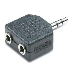 CON311 Adaptador Jack M 3,5mm a 2 H 3,5mm estéreo - CON311