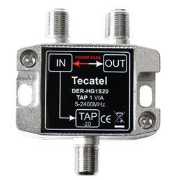 Tecatel DER-HG1S20 Derivador 5-2400MHz 1 SAL. 20dB - TECATEL DER-HG1S20