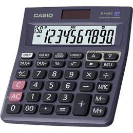 Casio MJ-100D Calculadora Sobremesa 10 Dígitos - CASIO-MJ-100D