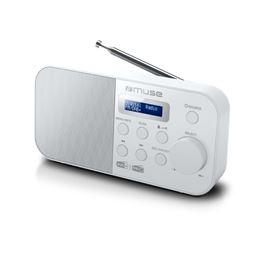 Muse M-109 Radio Portátil AM/FM Blanca - Muse-109 DBW-1