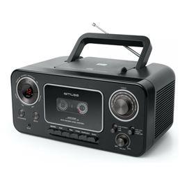 Muse M-182 Radio Cassette-Cd Portátil - Muse M-182 negra