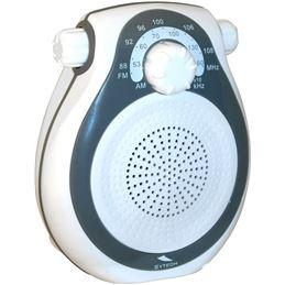 Sytech SY-1636 Radio Ducha Am/Fm (IPX4) Gris - 8435107110871