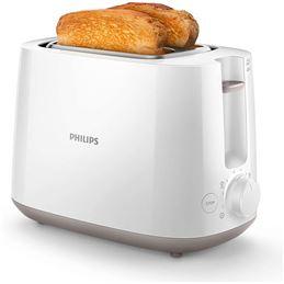 Philips HD-2581/00 Tostador 2 ranuras 830W. Blanco - PHILIPS HD-2581-00 BLANCA