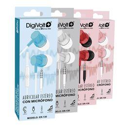 Digivolt ER-130 Auricular Silicona con micro - Digivolt ER-130 Auricular Silicona con micro