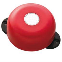 FOC-505 Alarma incendios campana metálica roja - foc505