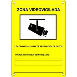 DEM-281 Placa CCTV homologada en castellano - DEM-281