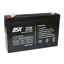 Dsk 10320 Bateria de plomo ácido 6V/7Ah - dsk_10320