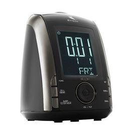 Sytech SY-1032 Radio reloj despertador - SYTECH SY-1032 NEGRO