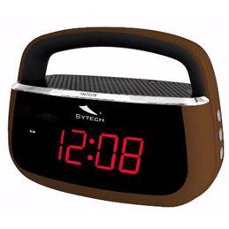 Sytech SY-1045 Radio reloj despertador Marrón - SY-1045MA