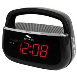 Sytech SY-1045 Radio reloj despertador Negro - sytech-sy1045negro