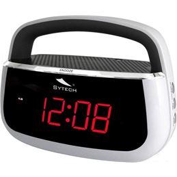 Sytech SY-1045 Radio reloj despertador Blanco - sytech-sy1045blanco