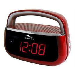 Sytech SY-1045 Radio reloj despertador Rojo - SY-1045RJ