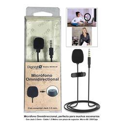 Digivolt MICRO-89 Micrófono omnidireccional - digivolt_Micro-89