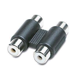 CON326 Empalme 2 RCA Hembra a 2 RCA Hembra PVC - EDC 05-2231