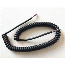 Cordon repuesto micro emisora 5+malla blindado - cable-de-microfono-5+1