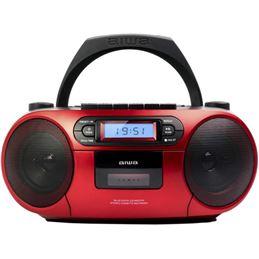 Aiwa Bbtc550rd Radio Cd Boombox con casete - radio-cd-aiwa-boombox-bbtc550rd