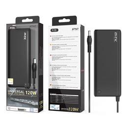 M-TK AT967 Cargador Portátil Universal 120W. - AT967-Cargador-Universal-120W-7A
