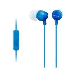 Sony MDR-EX15AP Auricular estereo con micro Azul - 4905524946727
