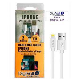 Digivolt CB-8225 Cable Usb Iphone 2,00m. - digivolt-cb8225