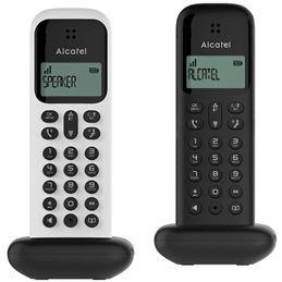 Alcatel D285 Teléfono Dúo Inalámbrico Bla-Neg - alcatel_d285duo_1