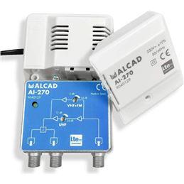 Alcad AI-270 Amplificador Interior LTE700 - Alcad-AI270