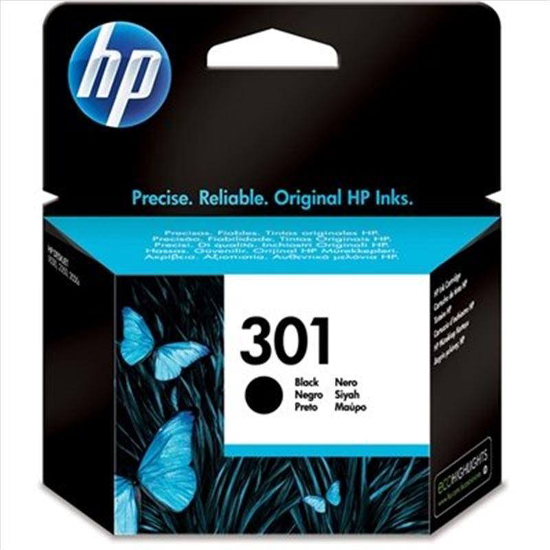 Cartucho tinta original HP 301 Negra - cartucho-tinta-hp-301-negro-original