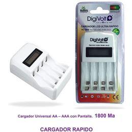 Digivolt QC-2406 Cargador rapido AA-AAA con pantal - 8502916513909
