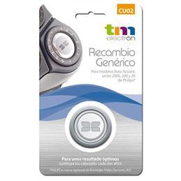 TM CU02 Recambio Cuchillas Afeitadora HQ-2 - TM CU02 PHILIPS HQ2