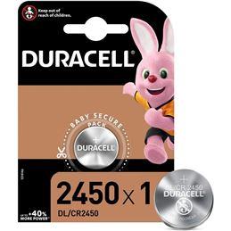 Duracell CR2450 Pila Litio 3V - 5000394030428