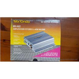 Mx-Onda MX-A82 Etapa potencia autorradio 2 x 40W - mx-onda_mx-a82-1