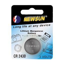 Newsun CR2430 Pila de lítio 3V. - NEWSUN CR-2430