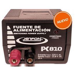 Jetfon PC-810 Fuente Alimentación 12V 8-10A - JETFON PC 810