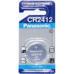 Panasonic CR2412 Pila de lítio 3V. - PANASONIC CR-2412 LITIO 3V