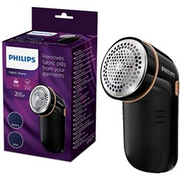 Philips GC-026 Quita pelusas pilas negro - PHILIPSGC026