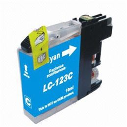Cartucho compatible Brother LC-123 Cian - BROTHER COMPATIBLE LC-123 CIAN