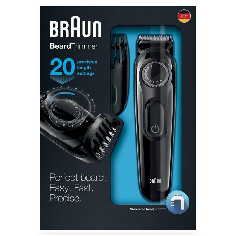 Braun BT-3020 Cortapelo barbero 20 posiciones - 4210201167761_T1