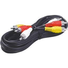 WIR309 Cable Audio-Video 3 Rca M-M 3,00m. - WIR309 Cable Audio-Video 3 Rca M-M 3,00m.