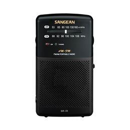Sangean SR-35 Radio Portátil AM/FM Negra - SANGEAN RP-35 NEGRA