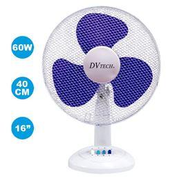 """Dvtech DV-407 Ventilador Eléctrico Mesa 12"""" 45W - dvtech-ventilador-sobre-mesa-12-30cm-45w-dv-407"""