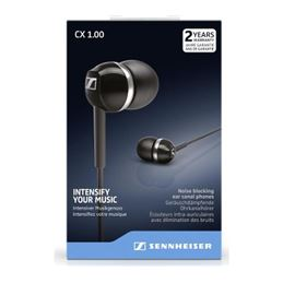 Sennheiser CX 1.00 Auriculares estéreo negro - CX-1.00