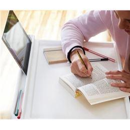 Mesa plegable multiusos con soporte tablet MPL2146 - mesa-plegable-con-ranura-para-tablet-y-smartphone