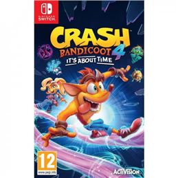 Crash Bandicoot-4 It´s About Time Juego Switch - 5030917294228