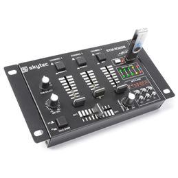 Skytec STM-3020B Mezclador 6 canales USB/MP3 - 172976_side1